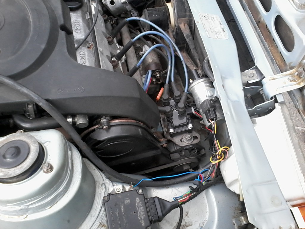 Пример установки катушки 2111
