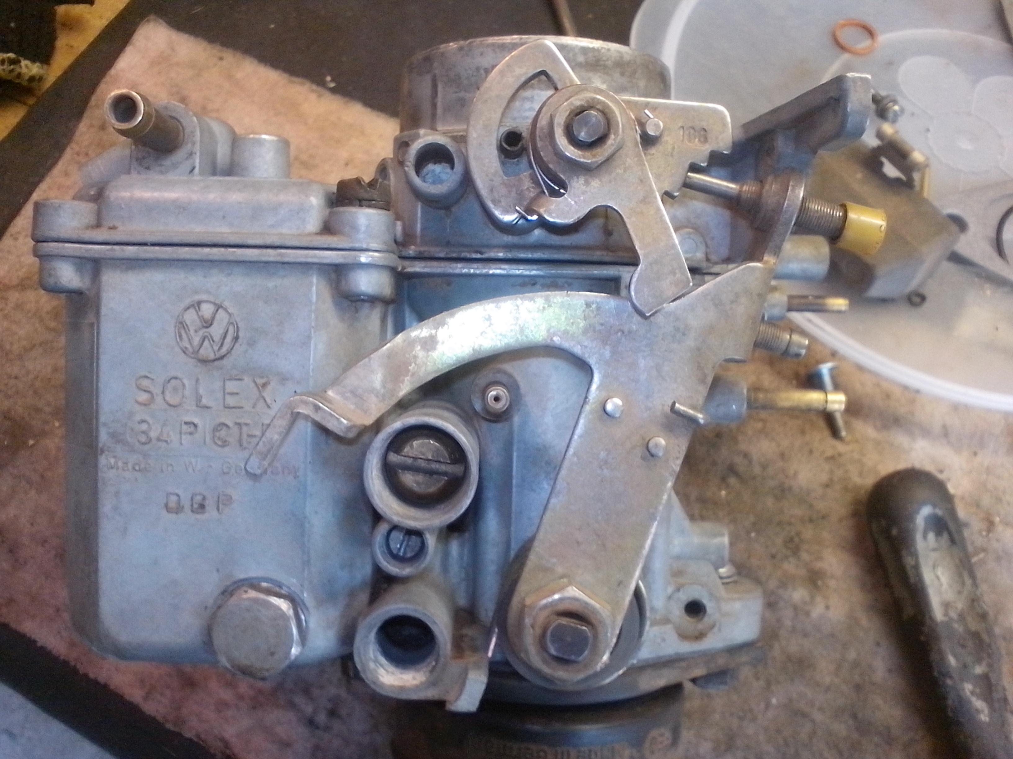 Как снять и провести ремонт карбюратора ДААЗ своими руками 57